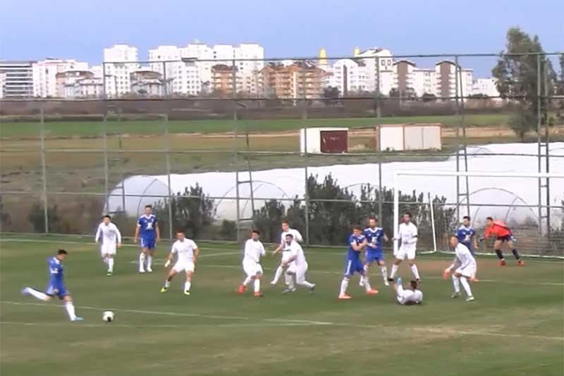 AMICAL Antalya. FCU - Kit-Go Pehcevo - A doua repriză