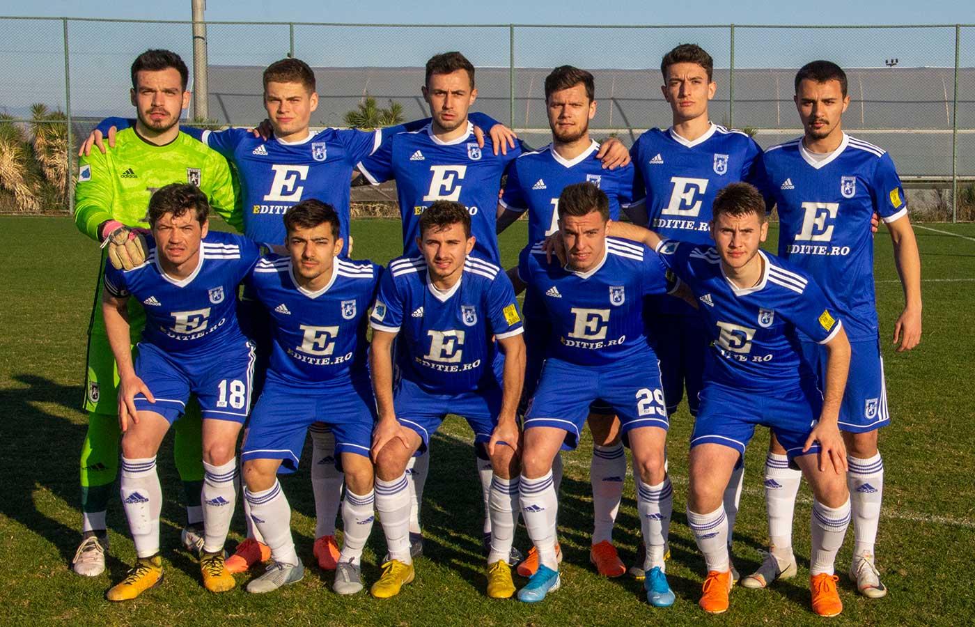 AMICAL Antalya. FCU - Arsenal Tula B - A doua repriză