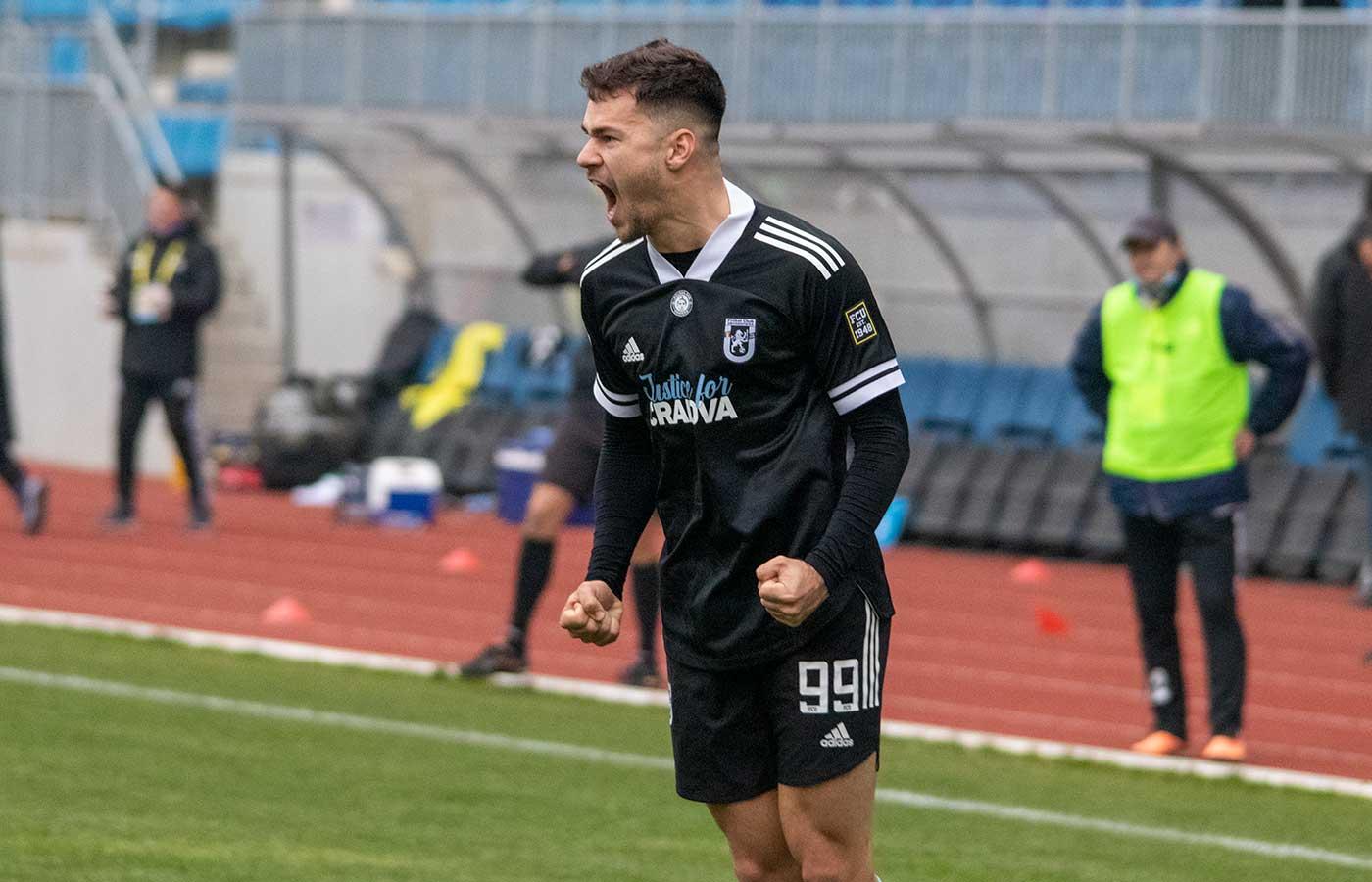 Liga 2 - Etapa 15 - Pandurii - FCU - Prima repriză - 5 decembrie 2020