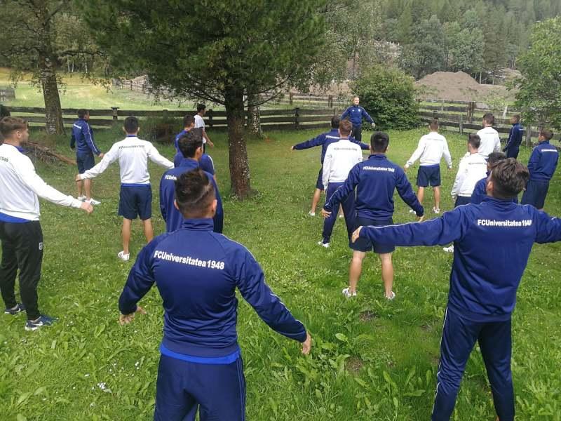 FCU - Cantonament Austria - 29-07-2019 - Exerciții înaintea micului dejun